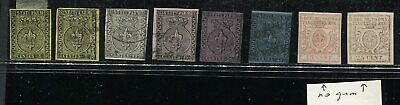 FE332) Italy old stamps Parma 1x MLH, used and no gum  no res !