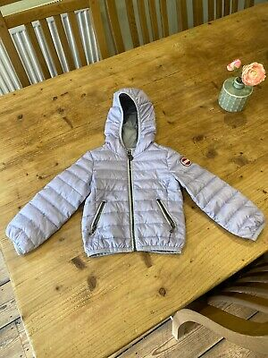Girls Lightweight Lilac Colmar Hooded Puffer Jacket  Age 2 24 Months