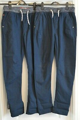 x2 pairs boys jeans chino/trousers age 14 years, NEXT   (S32)