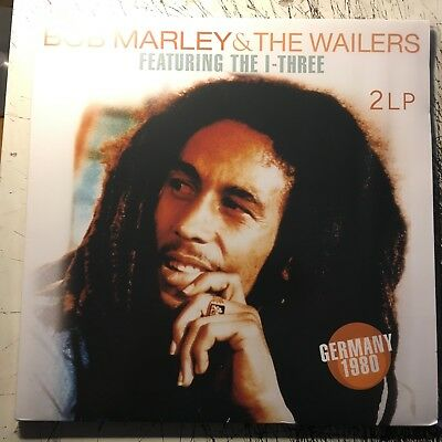 2LP  Bob Marley & The Wailers Featuring I-Three / Germany 80