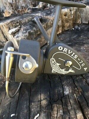 Zangi ORVIS 76A made in Italy spinning reel mulinello antico
