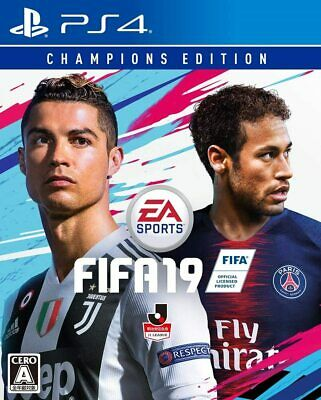 USED PS4 FIFA 19 Champions Edition Play Station Japan Import