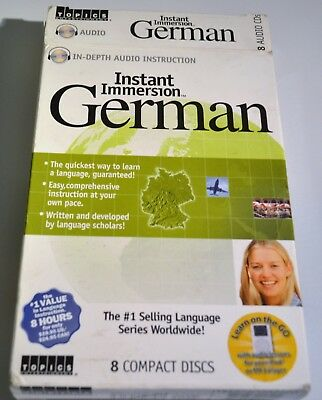 Instant Immersion German  Language Series 8 Compact Discs