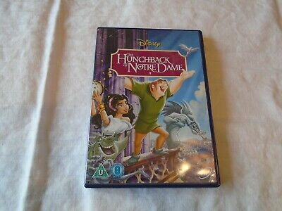 HUNCHBACK OF NOTRE DAME DVD WALT DISNEY'S 34th ANIMATED CLASSIC