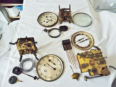 Clock  Parts  ,  Brass  Movement