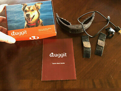 Waggit health & well being monitor for dogs. GPS & health/activity collar