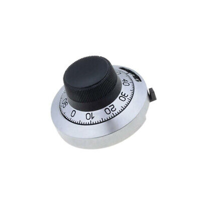 H-46-6A Precise knob with counting dial Shaft d6.35mm Ø46mm BOURNS