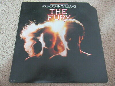 "The Fury Original Soundtrack PROMO 12"" LP Record Horror John Williams Arista"