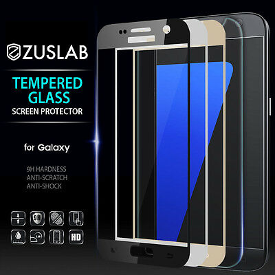 Galaxy S7 Zuslab Premium Tempered Glass Screen Protector For Samsung
