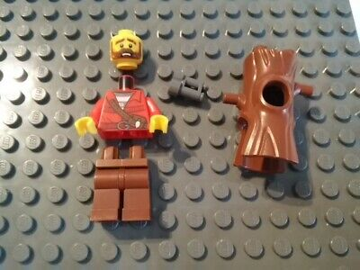 Lego City Mountain Police Stumpy 10k tree suit guy minifigure from set 60174