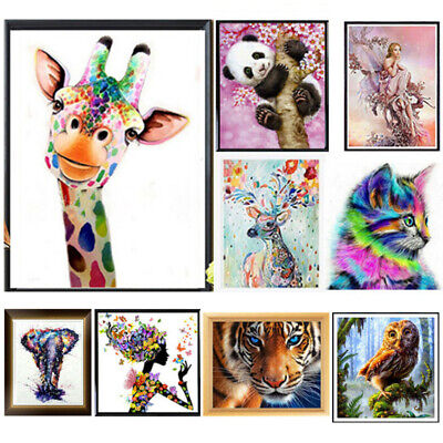 5D Diamond Painting Embroidery Cross Stitch Pictures Art Craft Kits Wall Decor