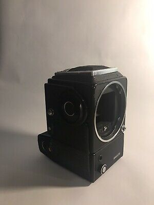 Hasselblad EL/M with viewfinder and battery adapter
