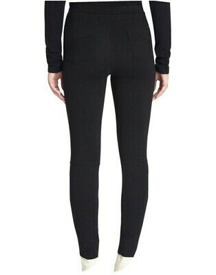 Sanctuary Grease Leggings Pull-On Ponte Skinny Pants Black Stretch Womens Size S