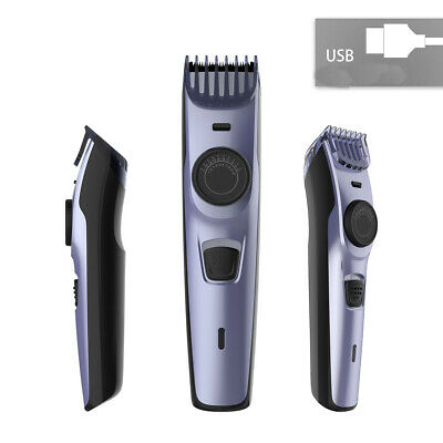 USB Charger Hair Clipper Trimmer Haircut Barber Shaver Professional Men