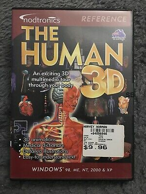 The Human 3D For PC CD-ROM