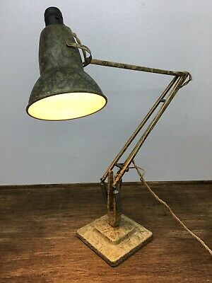 Vintage Marbled scumble Herbert Terry anglepoise 1227 Lamp - 1940's