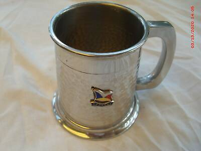 Pewter Mug From S S  'Oronsay'  In Excellent . Cond.