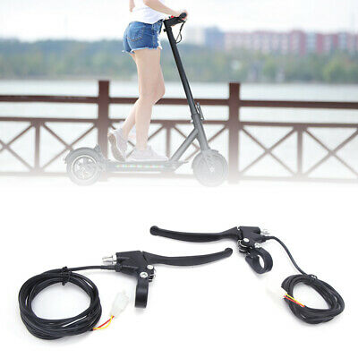 Electric bicycle Vehicle Brake Levers Handles Aluminum Left Right Power-off