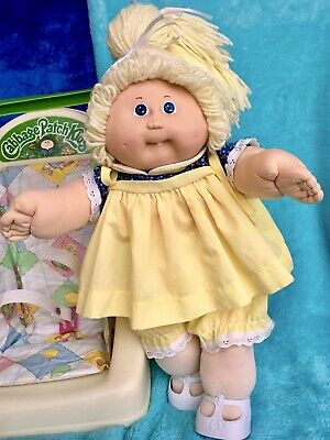 Cabbage Patch Kids Coleco In Her Original Dress & Knickers ~ REDUCED  WAS 95.00