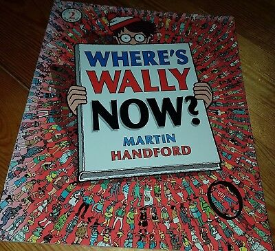 Where's Wally Now? by Martin Handford (Paperback, 2007) FUN Book