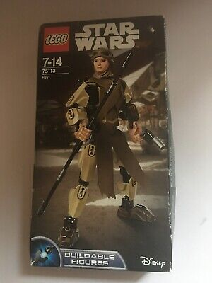 LEGO STAR WARS 2016 75113 REY  Buildable figure Brand New Sealed Damaged Box