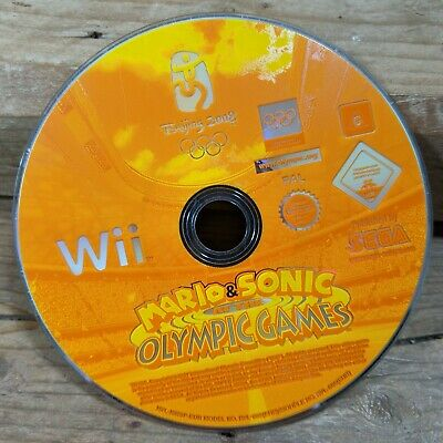 Mario & Sonic Olympic Games (Nintendo Wii) Family Fun in the Home *DISC ONLY*