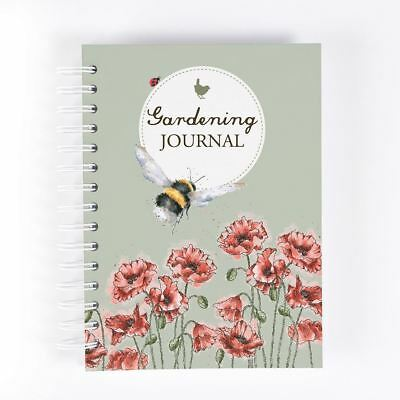 Wrendale Designs Spiral Bound A5 Hardcover Notebook Moo Cow