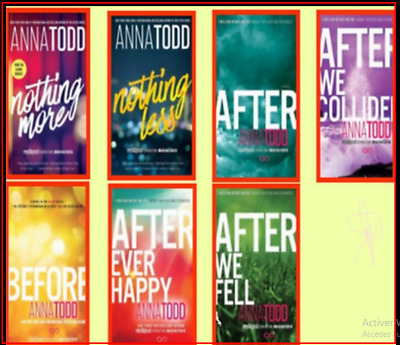After Serie Complete Set (Book 1-7)🔥 by Anna Todd [P.D.F]🔥 ✅