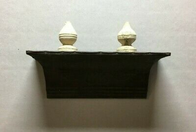 Architectural Destressed Embossed Reclaimed Tin Mantle Shelf Home Decor 324-20BE