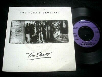 "Doobie Brothers/The Doctor/Embossed Promo Stamp On Cover/French Sp 7"" 1989"
