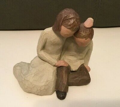 """Sister & Brother"" WILLOW TREE Demadco By Susan Lordi 2001 Figurine"