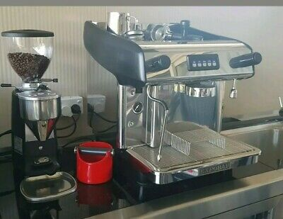One group Expobar megacrem package coffee machine in as NEW condition.