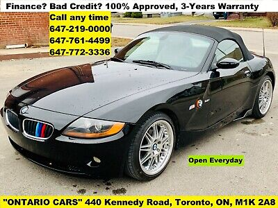 BMW: Z4 CONVERTIBLE 2003 BMW Z4 2.5 Roadster Automatic CONVERTIBLE WARRANTY
