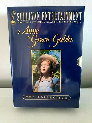 Anne of Green Gables 1,2,3 DVD box set complete