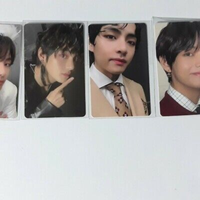 BTS Bangtan Boys Map Of The Soul 7 Official V Taehyung All Ver Set