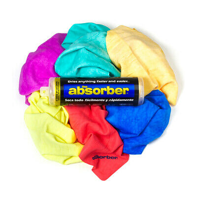 Car Towel - The Absorber - The Ultimate Absorbent Drying Towel / Chamois  - UK