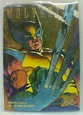 Fleer Ultra X-men (1995) Hunters And Stalkers Chase Card #7 - Wolverine