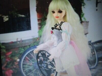 bjd doll 1/4 size with clothes