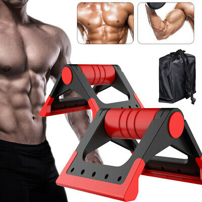 Pushup Stands Workout Train Gym Exercise Push Up Rack Board System Fitness