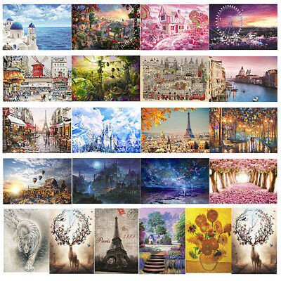 1000 Piece Jigsaw Puzzle Landscapes Decompression Game Toy Difficulty 70*50 CM