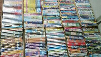 Whoe Joblot Chhildrens Kids DVDs x 496 - NEW (Thomas, Fireman Sam, Barney, Pingu