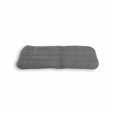 Vinsani Grey Microfibre Mop Refills Pad - Head Replacement Wet/Dry Pad Washable