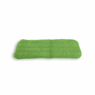 Vinsani Green  Microfibre Mop Refills Head Replacement Wet/Dry Pad Washable