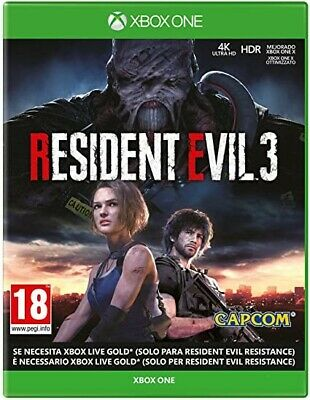 Resident Evil 3 Xbox One (Leggi Descrizione/Read description)