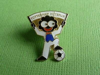 "Football Club Scarf Supporter "" TOTTENHAM HOTSPUR FC"" Enamel  Pin Lapel Badge"