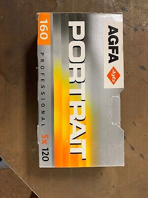 5 Rolls Of Agfa Portrait Professional 160 120 Film Expired Refrigerated