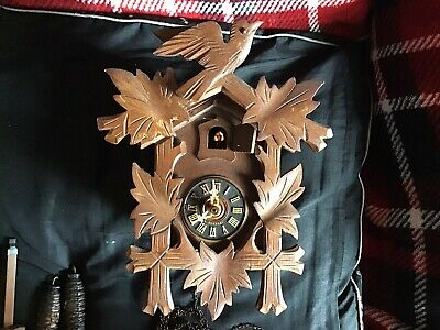Genuine Black Forest vintage cuckoo clock