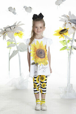 Ariana Dee Nadine Sunflower Leggings Set
