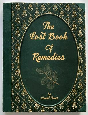 New The Lost Book of Herbal Remedies (paperback with color pictures)