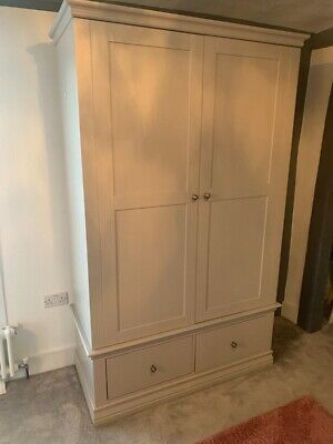 2 Free Standing Doube Wardrobes